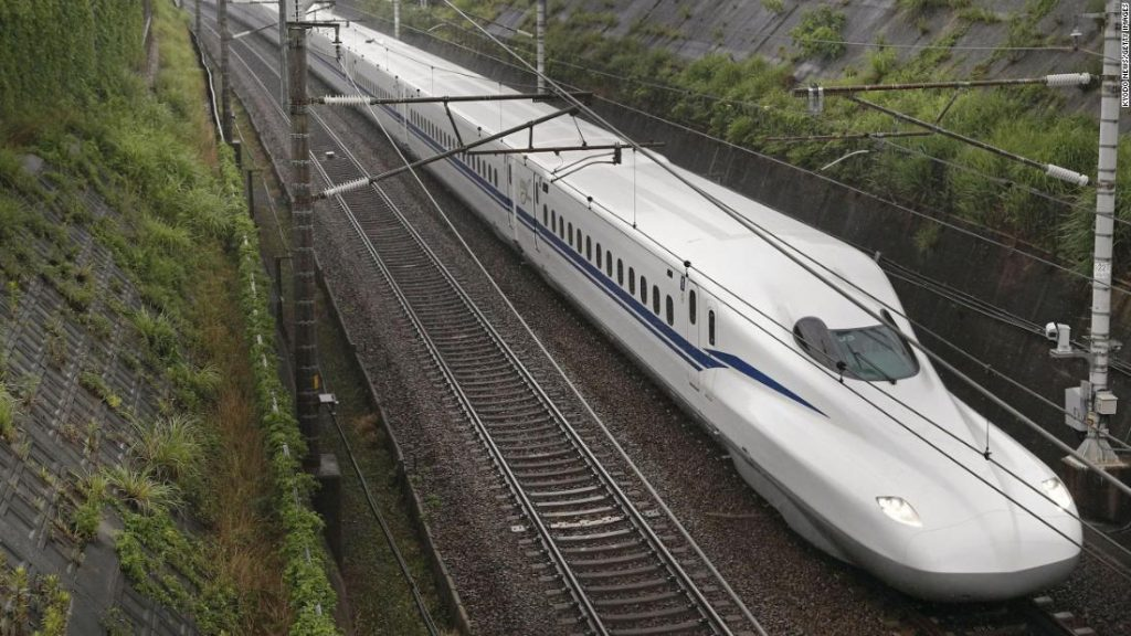 Japan launches new Shinkansen bullet train